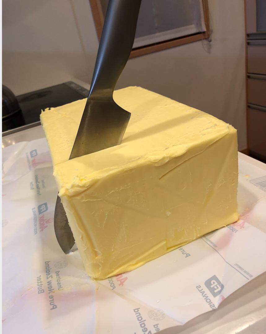 バター入刀