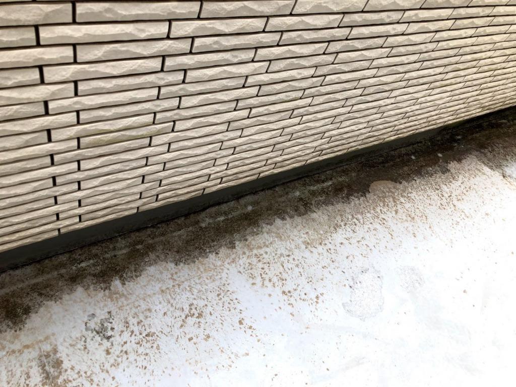 ベランダの床